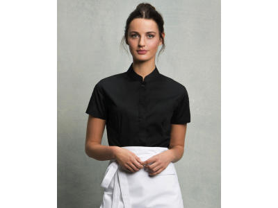 Bargear™ Mandarin Collar Shirt Lady