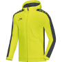 Jas met kap Striker 4XL lime/antraciet
