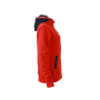 Ladies' Hooded Jacket tomaat/navy