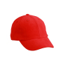 6-Panel Raver Cap One Size Tomato