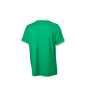 V-Neck Team Shirt groen/wit/zwart