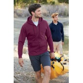 Men's classic hooded full zip sweatshirt