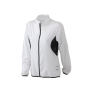 Ladies' Running Jacket wit/zwart