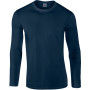 Softstyle® euro fit adult long sleeve t-shirt navy xl