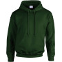 Heavy blend™ classic fit adult hooded sweatshirt forest green xl