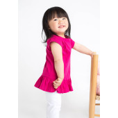 Girls frill t- shirt