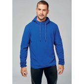 Microfleece hooded sweatshirt
