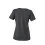Ladies' Heather T-Shirt zwart-melange