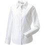 Ladies' long sleeve easy care oxford shirt white xl
