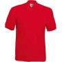 65/35 polo (63-402-0) red xl