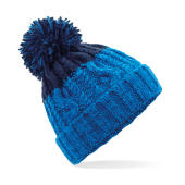Apres Beanie - Azure Blue/Oxford Navy