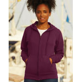 Ladies Lightweight Hooded Sweat Jacket