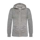 Ladies' wonder full zip hooded sweatshirt