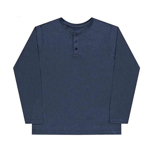 Aden Men's LS Henley T-Shirt