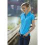 Ladies' Elastic Piqué Polo zwart