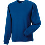 Heavy duty crew neck sweatshirt bright royal blue l