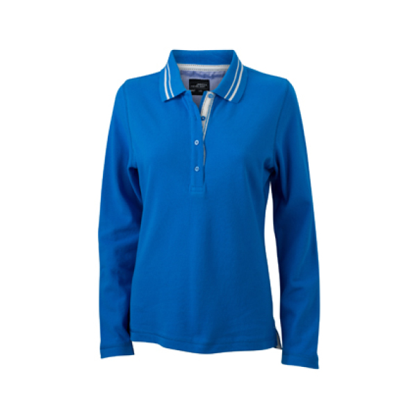Ladies' Polo Long-Sleeved