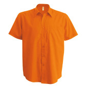 Ace - heren overhemd korte mouwen orange 3xl