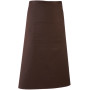 'colours' bar apron brown one size