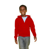 KIDS FULL ZIP HOODED SW 18600B - Kinderen Sweater 255/270 g/m