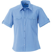 Men's roll sleeve twill shirt - short-sleeved