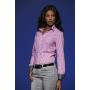 Dames blouse rood-wit/navy