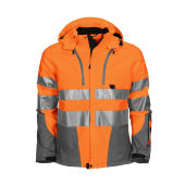 6419 Shell Jacket HV Orange XS