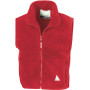 Junior polartherm™ bodywarmer red 10/12