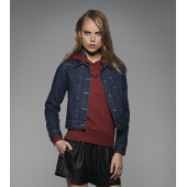 Ladies' Denim Trucker Jacket