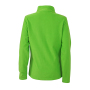 Ladies' Basic Fleece Jacket lentegroen
