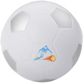 Football anti-stress bal - Wit,Zilver
